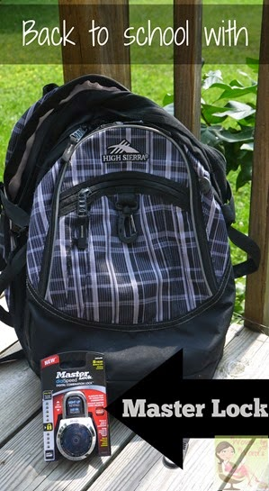 Master Lock & Backpack