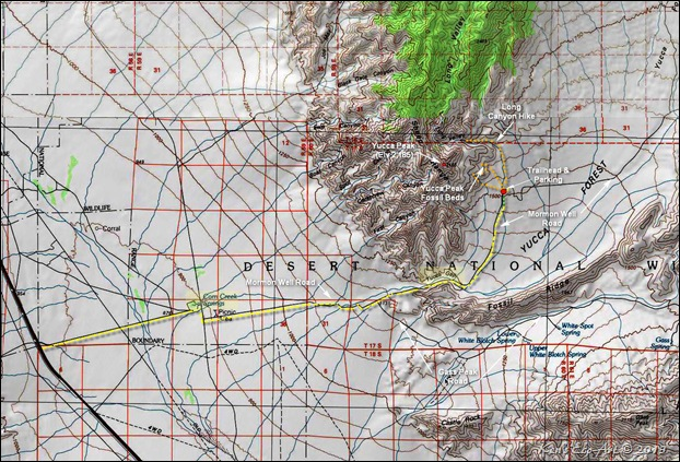 MAP-Yucca Peak Trailhead