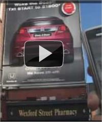 Publicidad interactiva en la calle