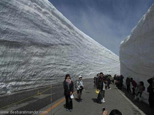 parede de neve 20 metros japao desbaratinando  (3)