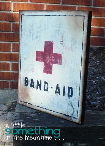 Band-Aid Sign Tilted WM