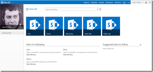 CIAOPS: Managing promoted sites in Office 365