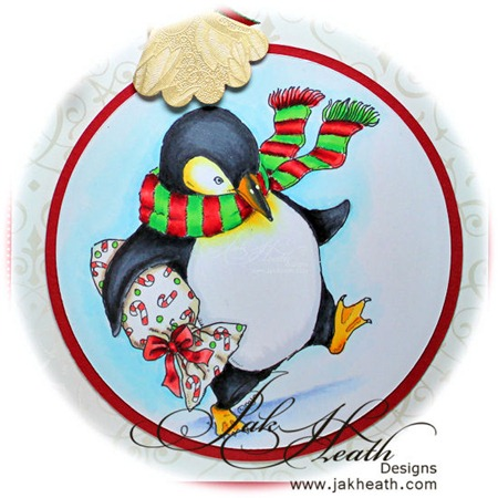penguin with gift2