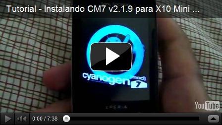 Tutorial – Atualização Xperia X10 Mini Cyanogenmod 2.3.7 v2.1.9 ...