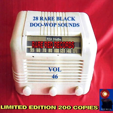 Rare Black Doo-Wop Sounds Vol. 46 - 29 - Front