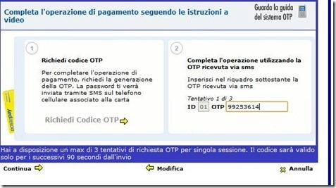 codice-otp-postepay