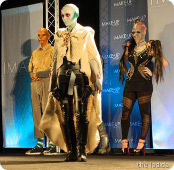 IMATS Sydney 2012 - Student Battle of the Brushes - Character Prosthetic - Kathleen O'Connell (1)