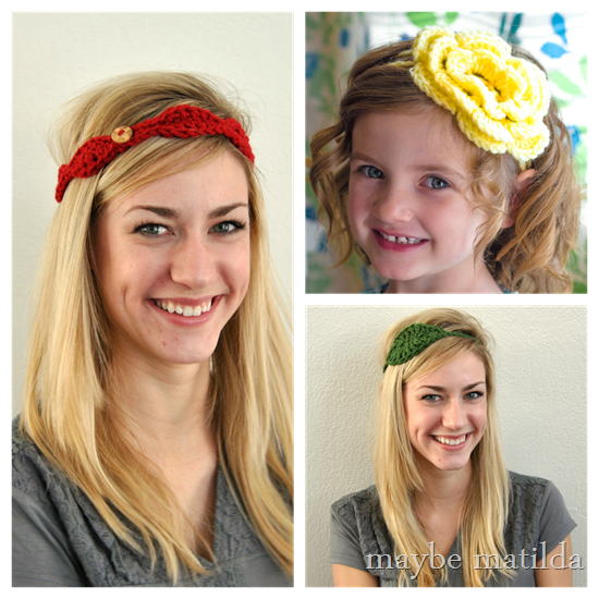 Spring Headbands by Maybe Matilda