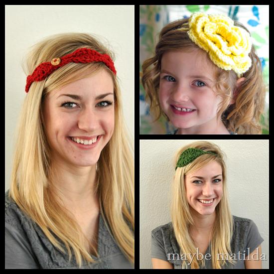 Spring Headbands by Maybe Matilda