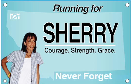 Virtual Run for Sherry Arnold February 11, 2012