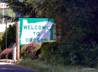 Oregon -- another new state!