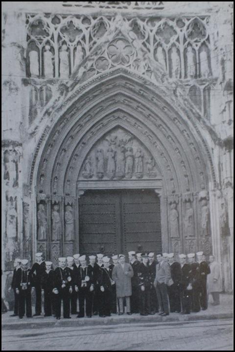 flota americana en la catedral_años 50