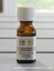 Lavender Essential Oil www.simpleispretty.com