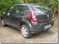 Dacia Sandero Stepway in Belgie 02
