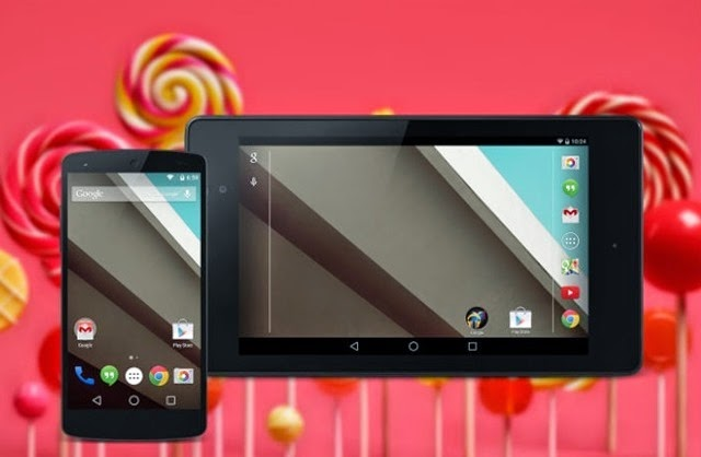Estos dispositivos serán compatibles con el nuevo Android 5.0 Lollipop