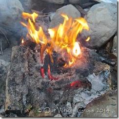 final burst into flame