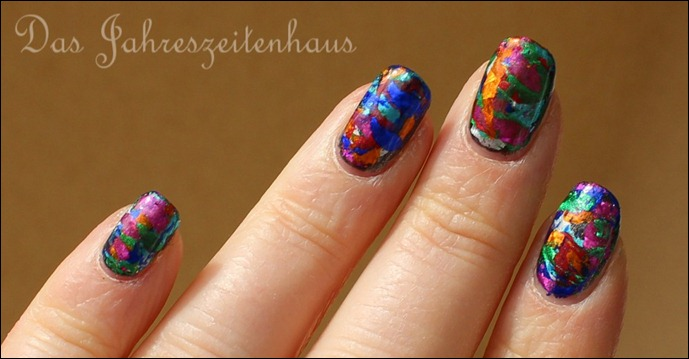 Nageldesign Faschingsnägel 5