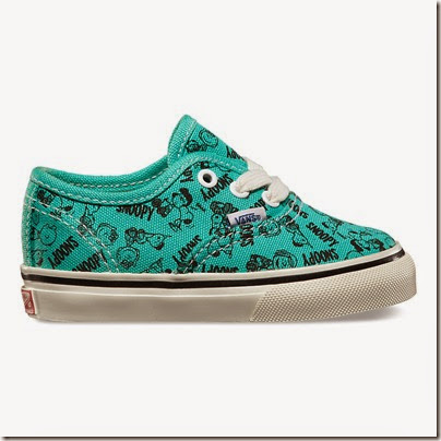 Vault by Vans X Peanuts OG Authentic LX Toddler Sizes Blue Turquoise