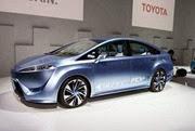 Toyota revela FCV um carro conceito movido a hidrogênio