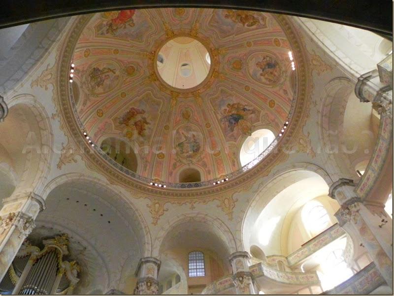 belíssima cúpula da Frauenkirche Dresden
