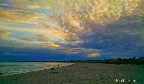 23. sunset at Pine point beach 8-21-14