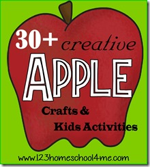 apple crafts & Kids Activities