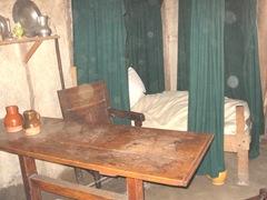 Plimoth Plant inside pilgrim house