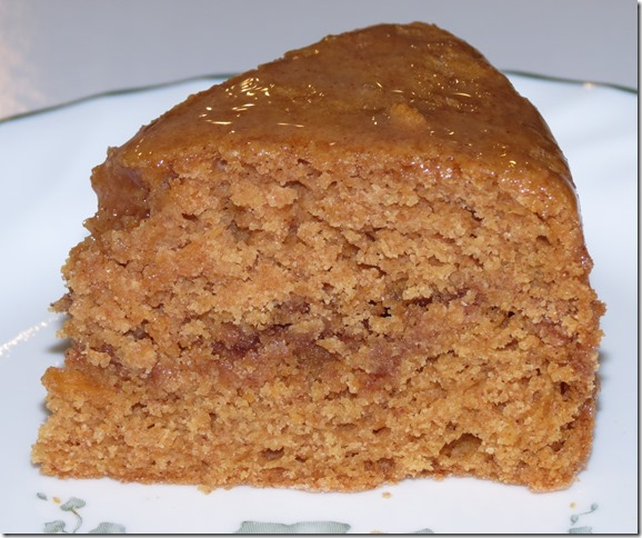 Sweet Potato Cake with Cinnamon Honey Glaze