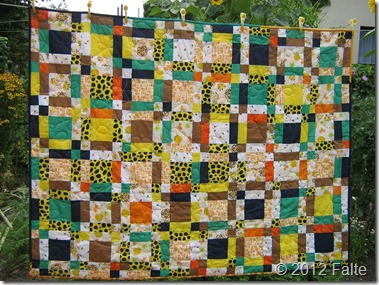 Quilt031-RoteSchnegge Mystery