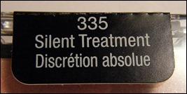 Wet N Wild Silent Treatment