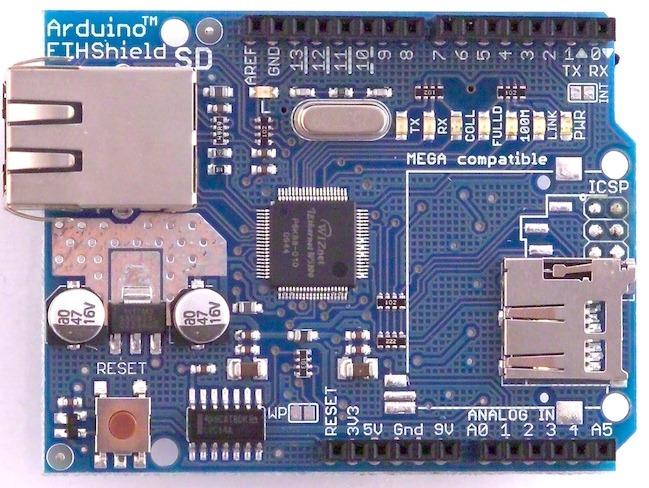 ArduinoEthernetShield