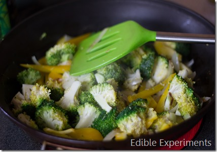 Easy Thai Green Curry with Veggies and Chickpeas