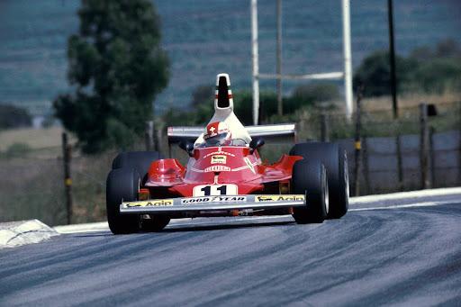 Clay Regazzoni(SUI) Ferrari