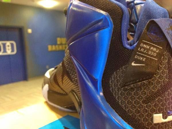 King James Hooks Up Duke Blue Devils with LeBron 12 PE
