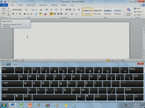 OnLive Desktop Keyboard