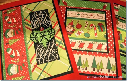 Merry and Bright Cards 1