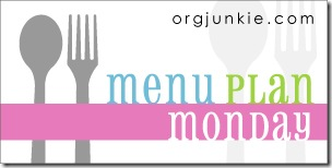 menu plan monday spoon