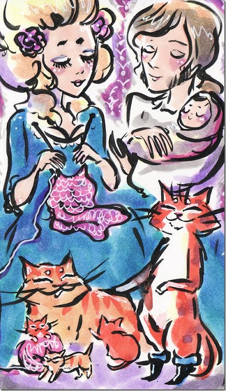 El Gato con Botas,El gato maestro,Cagliuso, Charles Perrault,Master Cat, The Booted Cat,Le Maître Chat, ou Le Chat Botté (47)