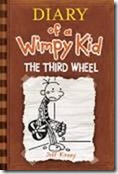Diary of a Wimpy Kid_The Third Wheel_brown cover