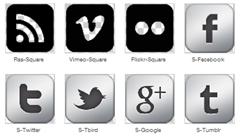 social-icons-set