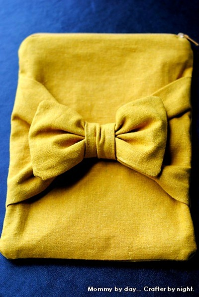 bow pouch tutorial