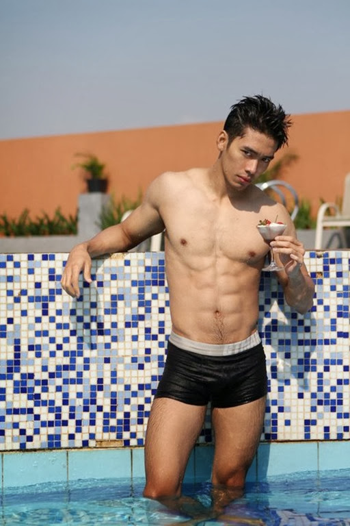 Hot Indonesian  Model - Akbar Kurniawan 06
