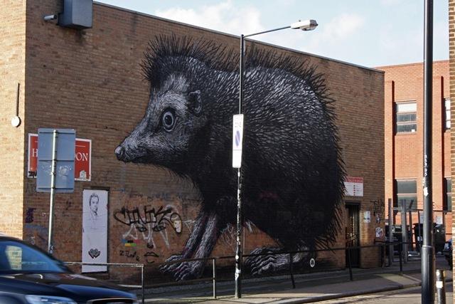 London Street Art Roa