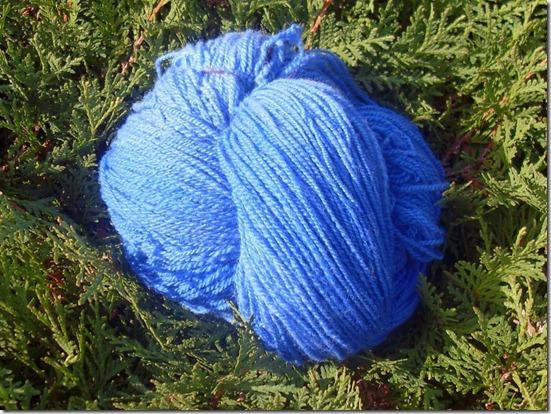 2011_09 1. Merinokammzug gesponnen und gefärbt (800x600)