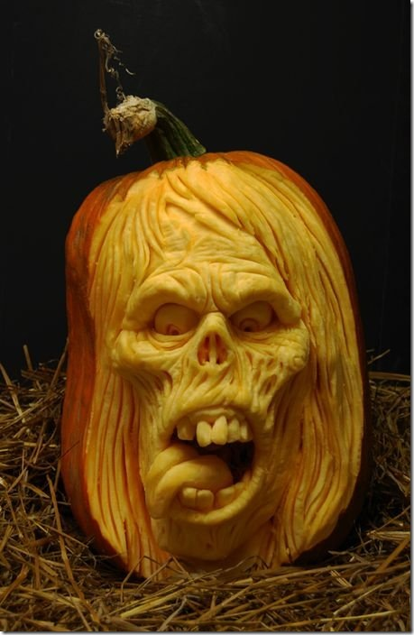 awesome pumpkin carving 10