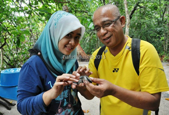 Program Survival Laut & Penghayatan Warisan Edisi Media 2013 di Pulau Bidong