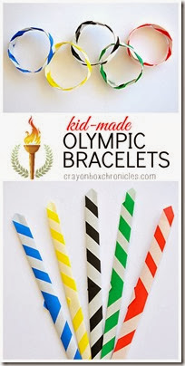 diy-olympic-bracelets from Crayon Box Chronicles