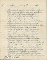 Gedicht 10 jarig bestaan 'Een in Streven' blz. 2