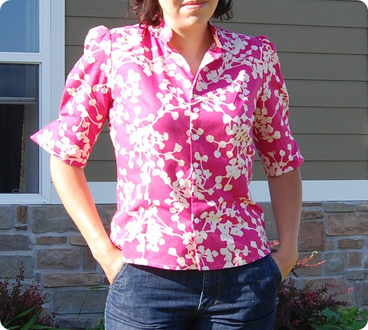 simplicity blouse 4077