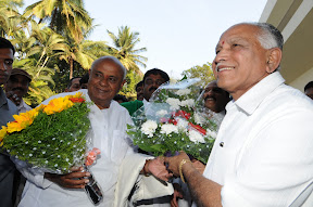 With Former Prime Minister Sri H.D. Devegowda